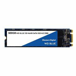 WD Blue 3D NAND SSD 500GB M.2 2280 SATA III 6Gb/s