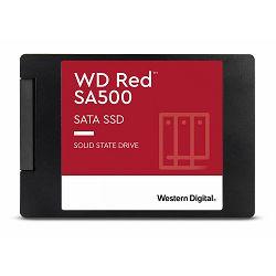 WD Red SSD SA500 NAS 500GB 2.5inch SATA III 6 Gb/s