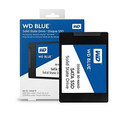 SSD WD Blue 3D NAND 250GB, 2,5