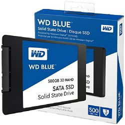 Tvrdi disk WD Blue 3D NAND SSD 500GB, 2,5