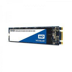 SSD WD Blue 3D NAND 500GB, M.2 2280, R560/W530