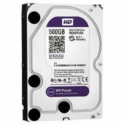 Tvrdi disk HDD WD Purple (3.5 Surveillance Hard Drive, 0.5TB, 64MB, RPM IntelliPower, SATA 6 Gb/s)