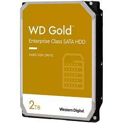 HDD Server WD Gold (3.5, 2TB, 128MB, 7200 RPM, SATA 6 Gb/s)