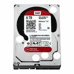 Tvrdi disk HDD WD Red (3.5, 6TB, 64MB, RPM IntelliPower, SATA 6 Gb/s)