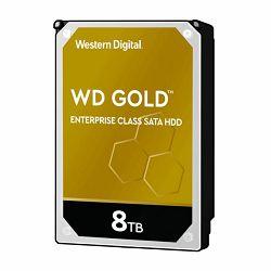 Tvrdi disk Western Digital HDD, 8TB, 7200rpm, WD Gold