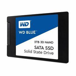 Western Digital 2TB SSD, Blue 3D, SATA
