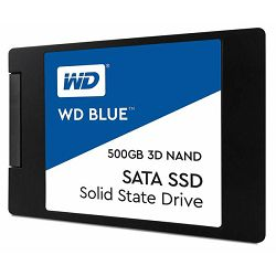 SSD Western Digital 500GB, Blue 3D, SATA