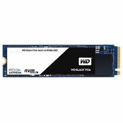 SSD WD Black (M.2, 256GB, PCIe Gen3 x4 NVMe-based)