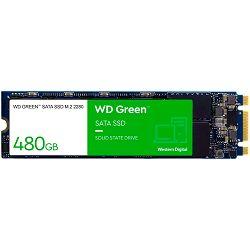 SSD WD Green (M.2, 480GB, SATA III 6 Gb/s)