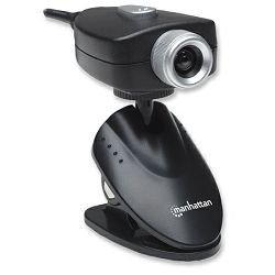 Webcam 500, 5 Megapixel (2560 x 1920)CMOS USB Webcam with Adjustable Clip Base and Integrated AMCap Image Enhancement Software