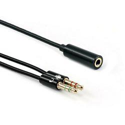 Adapter SBOX 3,5mm F. - 2 X 3,5mm M. 4Pin