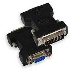 Adapter DVI m - VGA f 15 pin