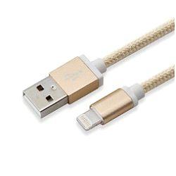 Kabel SBOX USB->iPh.7 M/M 1,5M Blister zlatni,2kom