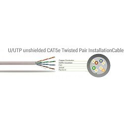 SBOX patch kabel UTP Cat 5e 10m, plavi