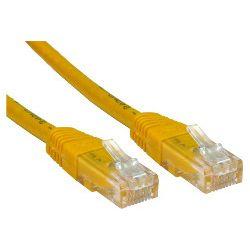 Patch kabel UTP Cat 5e, 5m, žuti