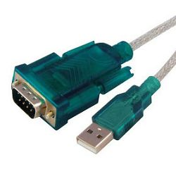Kabel USB/serial RS232, 2m, bulk