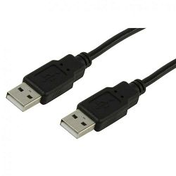 Kabel USB 2.0 AM/AM 2m
