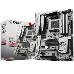Matična ploča MSI X370 (SAM4, 4xDDR4, 3xPCI-Ex16, 3xPCI-Ex1, USB3.1, USB2.0 ,6xSATA III, 2xM.2, U.2, Raid, DP, HDMI, GLAN) ATX Retail