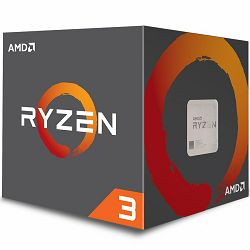 Procesor AMD Ryzen 3 4C/4T 1300X (3.5/3.7GHz Boost,10MB,65W,AM4) box, with Wraith Stealth cooler