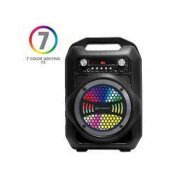 ZVUČNIK BLUETOOTH AUDIOBOX BBX 600, LED, FM, + WiFi MIC