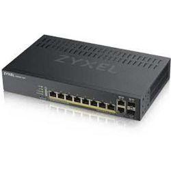 ZyXELGS1920-8HP,10 Port Smart Switch 8x Gbt dual