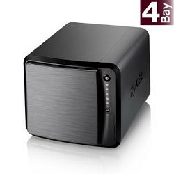 ZyXEL 4-bay Dual Core Personal Cloud Storage