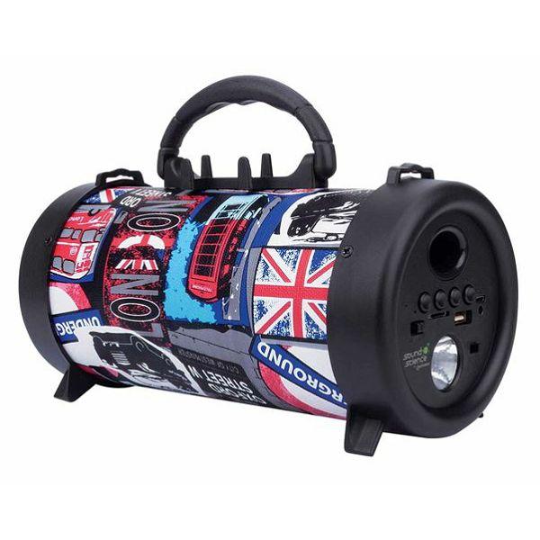 Prijenosni bluetooth zvučnik Manhattan BT Boombox London