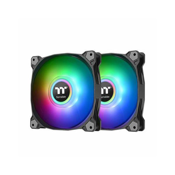 Hladnjak za kućište Thermaltake Pure Duo 12 ARGB Sync (2 kom