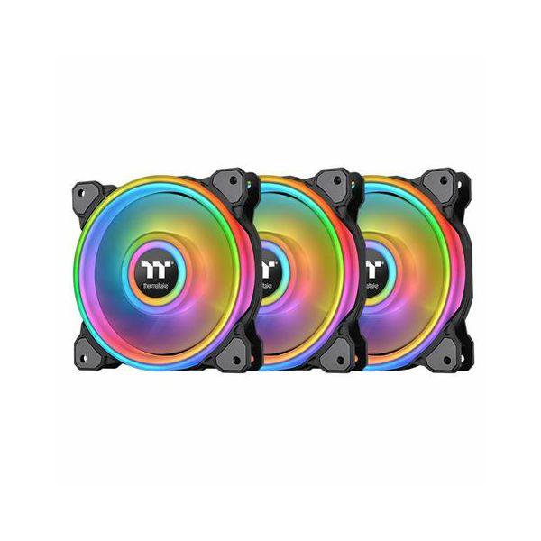 Hladnjak za kućište Thermaltake Riing Quad 12 RGB (3 kom + H