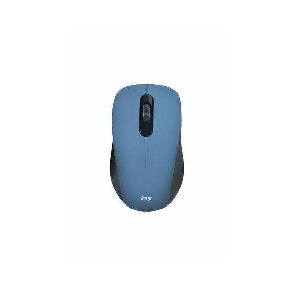 MS FOCUS M123 plavi bežični miš