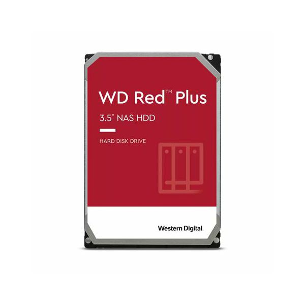 Hard Disk Western Digital Red Plus™ NAS 2TB WD20EFZX (CMR)