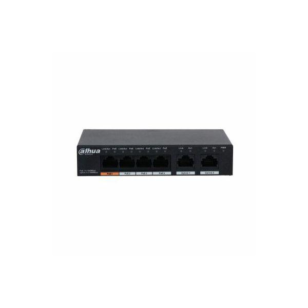 Dahua DOD Preklopnik Gigabit 6port 4PoE, PFS3006-4GT-60