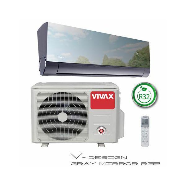 VIVAX COOL, klima uređaji, ACP-12CH35AEVIs R32 GRAY MIRROR
