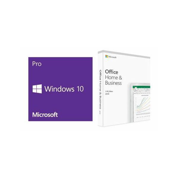DSP Win10 Pro + Office H&B 2019 - HRV, FQC-08929 + T5D-03308