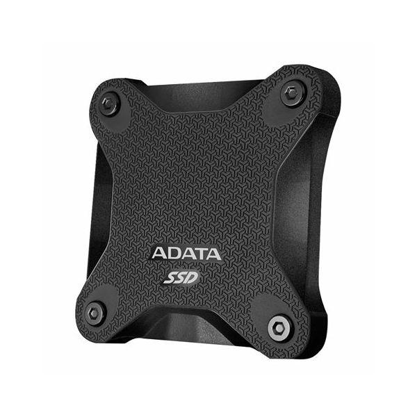 SSD Externi disk ADATA 256GB Black, ASD600