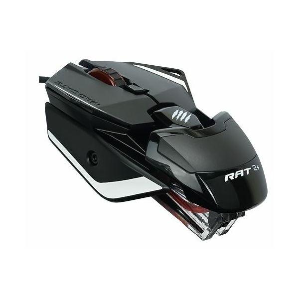 Miš žični MadCatz R.A.T. 2+ optički gaming, crni