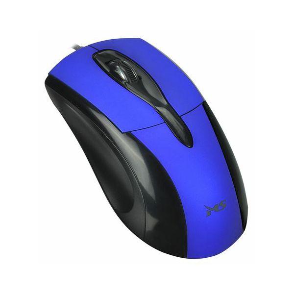 MS SKIPPER_3 žičani optički miš, plavi