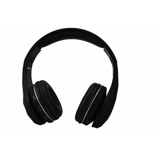 MS DIAMOND crne bluetooth slušalice s mikrofonom