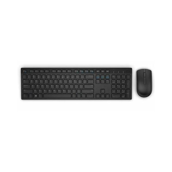 Dell bežični set tipkovnica + miš KM636, 580-ADFT, crna