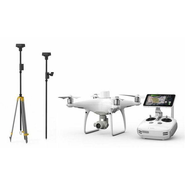 Dron DJI Phantom 4 RTK + D-RTK 2 Mobile Station Combo
