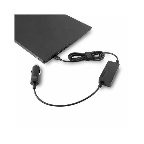 Lenovo 65W USB-C DC Travel Adapter, 40AK0065WW