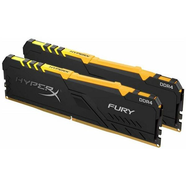 Memorija Kingston DDR4 16GB 2666MHz (2x8GB) HyperX Fury Blac
