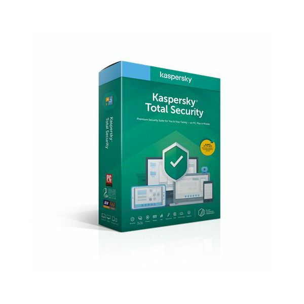 Kaspersky Total Security Multi-Device 1-Device 1 year Base