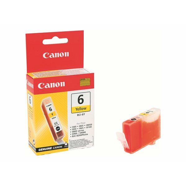CANON BCI-6Y yellow BJC8200/S800