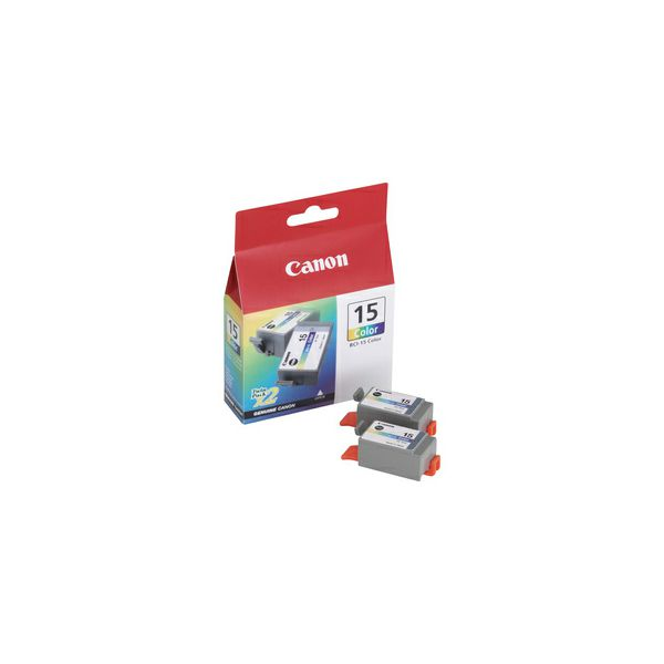 CANON 2x BCI-15c Ink color TP i70 i80