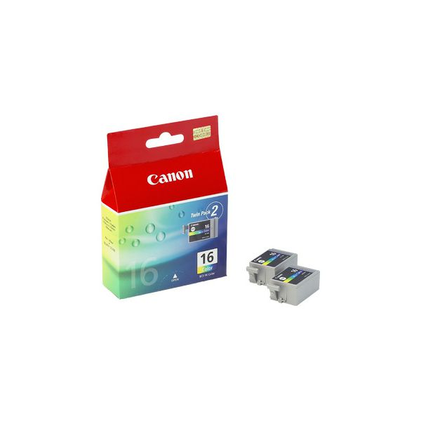 CANON 2x BCI-16 TP ink color DS700