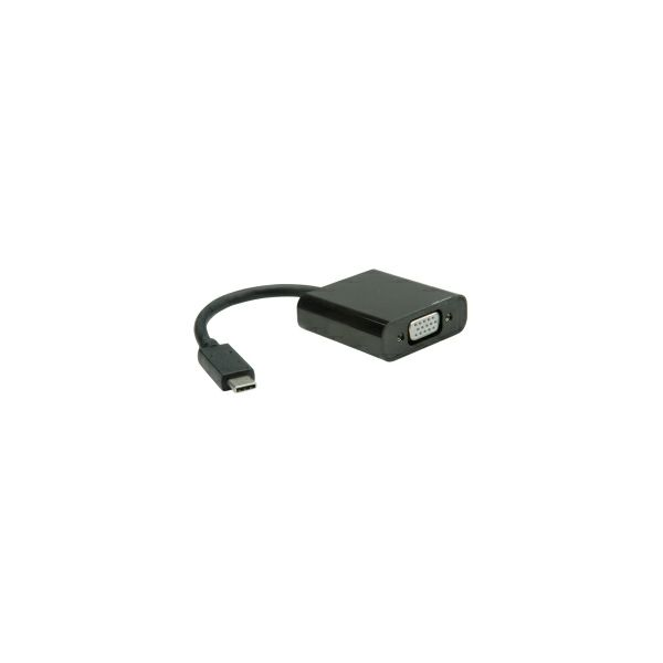 Roline VALUE adapter USB3.1 C - VGA, 0.15m