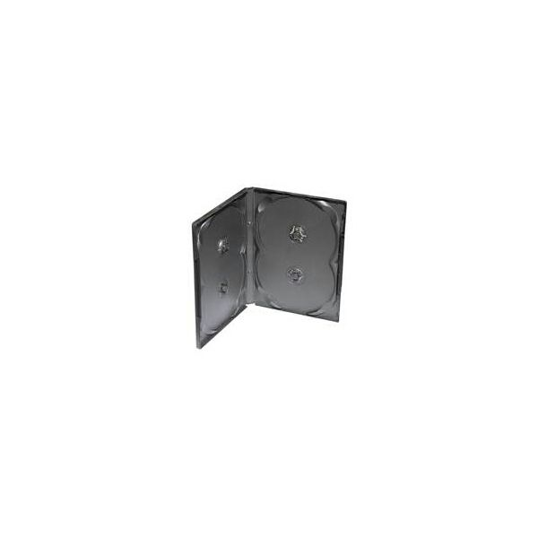 DVD-BOX crni četverostruki