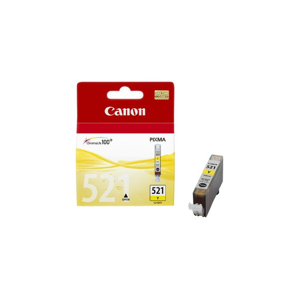 CANON CLI-521y ink yellow