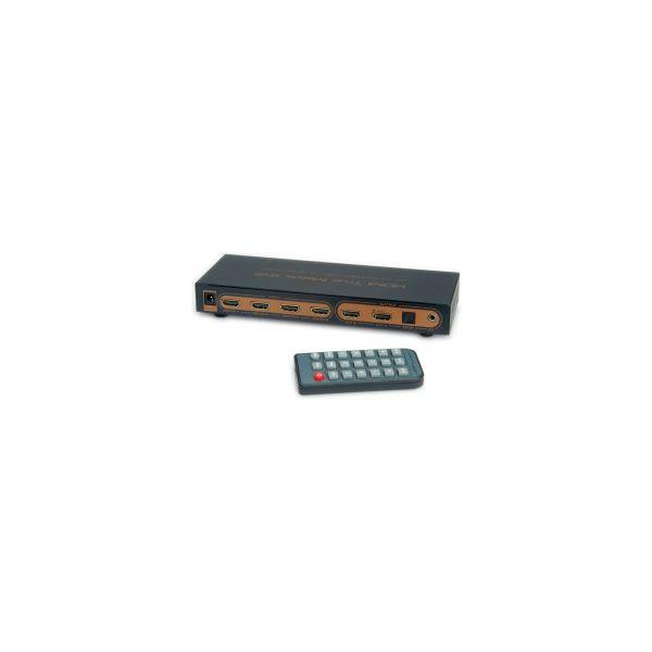 Roline VALUE HDMI 4K Matrix razdjelnik, 6×2 (6 ulaza/2 izlaza), daljinski upravljač